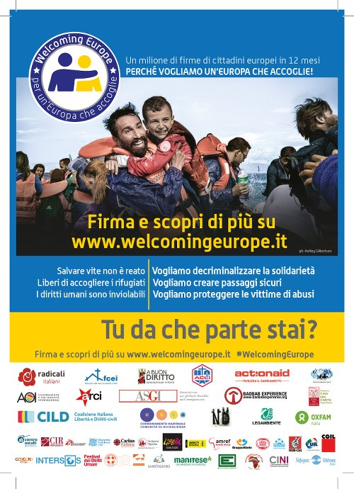 WELCOMING EUROPE PER UN EUROPA CHE ACCOGLIE