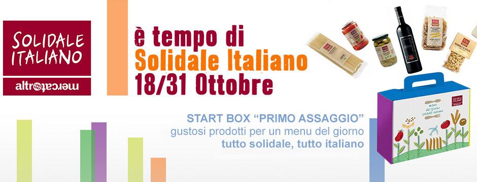 Scopri il Solidale Italiano, ti aspettiamo in Bottega.